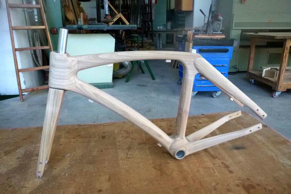 Pechlaner Holzfahrrad Produktion